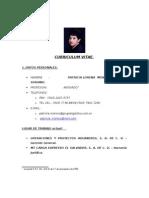 CV Patricia Mónico de Soriano