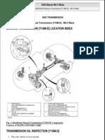 Mazda Manual Transmission 6spd