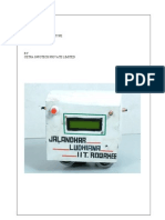 Project Report Metrofinal