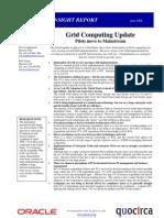 Grid computing update - cycle IV
