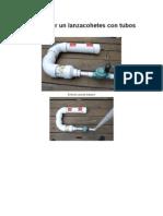 Cómo hacer un lanzacohetes con tubos de PVC