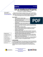 Email as intellectual property