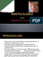 Rinitis Alergi - Km
