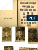 Harbor Springs World War II Clippings Scrapbook