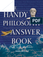 The Handy Philosophy Answer Book