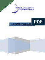 Contingency Plan 2013