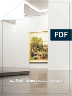 Basic Definitions & Concepts of Economics