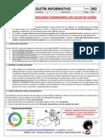 B002 - Boletín informativo Ciclos de Sueño - MYMTEC