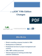 PMBOK Fifth Edition