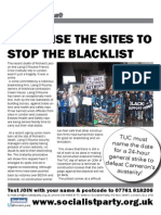 Organise the Sites to Stop the Blacklist!