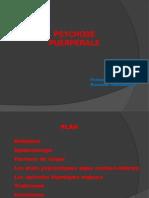 Psychose puéreperale