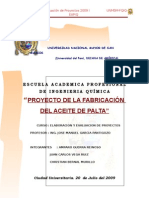 17631055 Proyecto Fabricacion Del Aceite de Palta