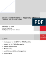 International Financial Reporting Standard - Mkt Opp