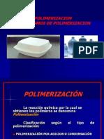 Mecanismos de Polimerizacion