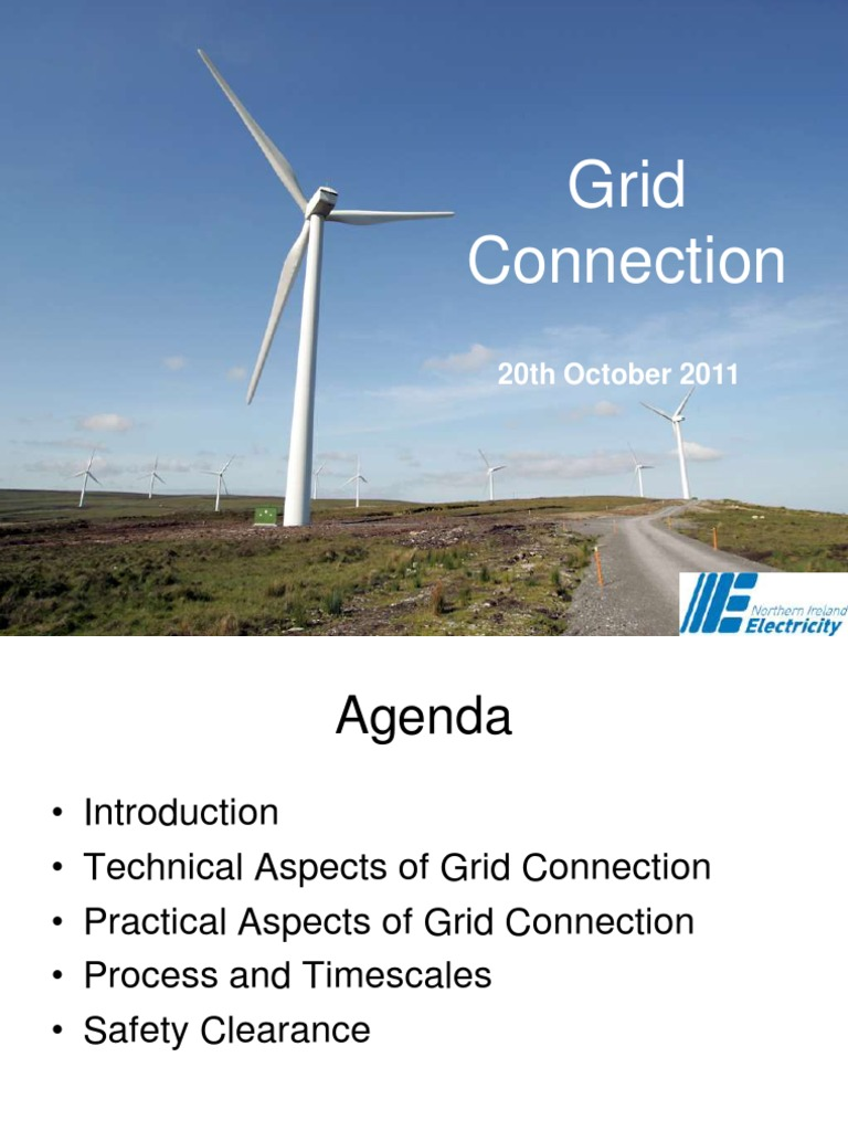 Grid Connection - NIE | Electrical Grid | Wind Power