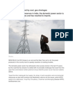 Power Sector Marred by Coal