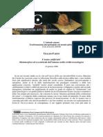 Ubaldo Fadini - L'uomo artificiale