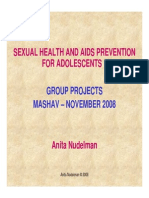 Sexual Health Project 2008