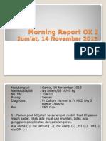 Morning Report OK 8 & 9