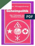 28573486 Geheimpolitik Der Fahrplan Zur Weltherrschaft