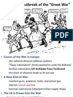 world war i outbreak final franco-prussian info included