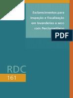 Percloroetileno - Lavanderias - ANVISA RDC 161