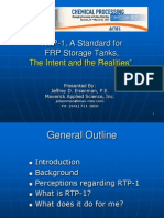 RTP-1 a Standard for FRP Storage Tanks