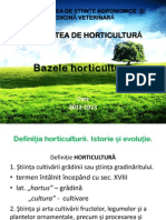 Bazele horticulturii