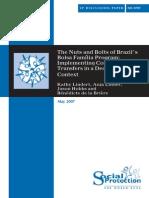 WB - The Nuts and Bolts of Brazil's Bolsa Família Program - Marcado
