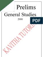 Civil Service Preliminary 2000 Paper [97-2003 Word]