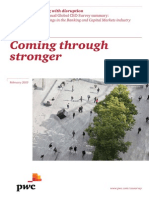 Pwc Global Ceo Survey 2013 Banking and Capital Markets Industry Analysis