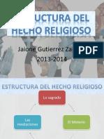 Estructura Del Hecho Religioso