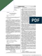 Reglamento del Registro de Entidades Autorizadas para la Elaboración de Estudios Ambientales