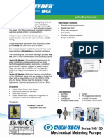 Bomba Dosificadora Chem Tech Series 100 150 Specifications En