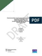 Draft Habitat Regulations Appraisal