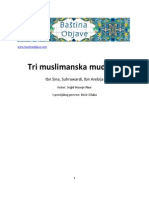 Tri muslimanska mudraca