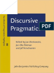Discursive Pragmatics Handbook of Pragmatics - Highlights - 2011