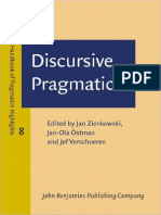 Discursive Pragmatics Handbook of Pragmatics - Highlights - 2011
