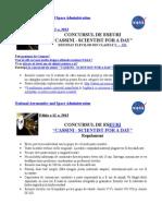Cassini Regulament 2013