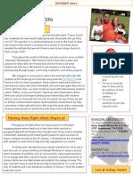 October Ministry Newsletter 2013