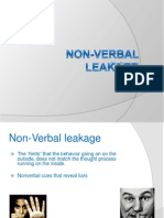 Non VerbalLeakage