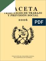 Gaceta de Trabajo 2006