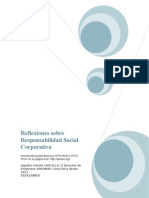Reflexiones Sobre Responsabilidad Social Corporativa