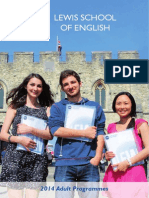 2014 Lewis School Adult Brochure A4 Sm