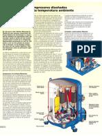 Compresores diseñados para alta temperatura ambiente