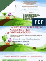 Equipo 4 - El Medio Ambiente Organizacional