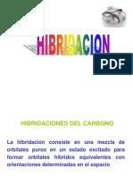 Hibridacion Del Atomo de Carbono