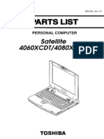 Toshiba Satellite 4060XCDT