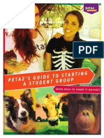 Peta2 Guide to Starting a Student Group