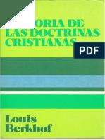 Berkhof, Louis - Historia de Las Doctrinas Cristianas,